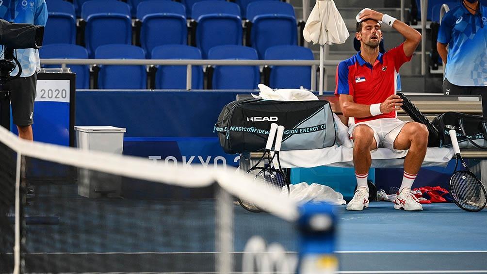 Djokovic cayó en semifinales ante Zverev y le dijo adiós a su sueño del