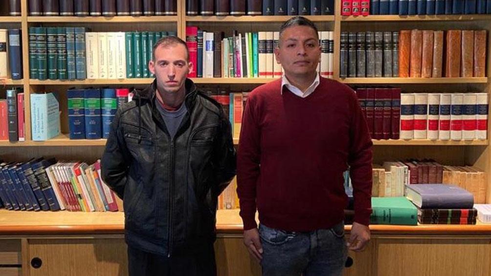 Amendolara recibió el apoyo del expolicía Luis Chocobar.
