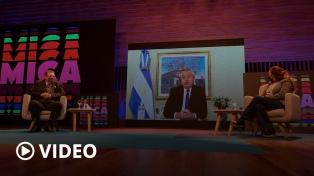 """Alberto Fernández: """"Argentina tiene un enorme capital a desarrollar en las industrias culturales"""""""