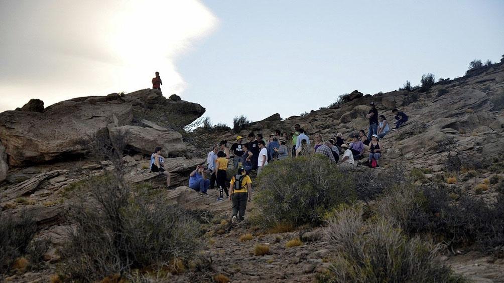 Fósiles e impresiones en las rocas manifiestan la presencia de antiguos mares intrusivos que visitaron estos lugares.