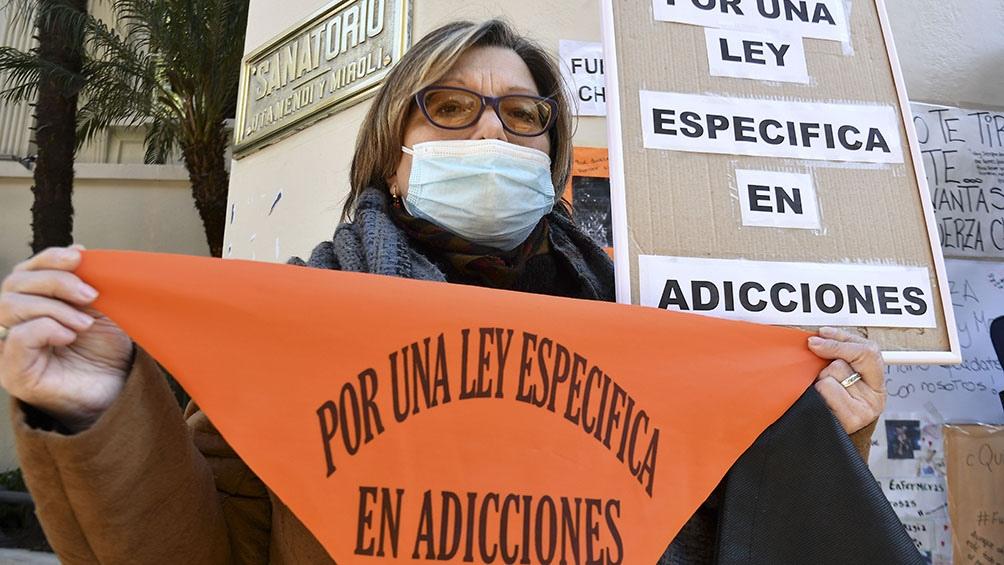 """El grupo autoconvocado señaló que se debe trabajar en una ley """"que proponga un tratamiento especial"""" ya que se trata de """"un problema muy complejo"""". Foto: Eliana Obregón."""