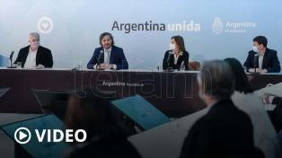 """Cafiero: """"En Argentina no hay espacio para la trata ni para la explotación laboral"""""""