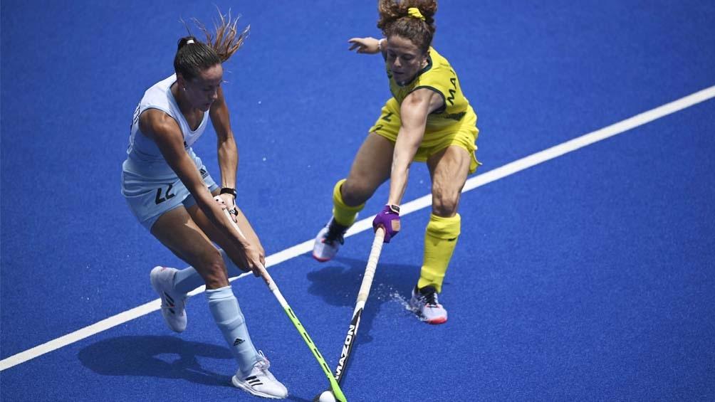 Argentina enfrenta al líder del grupo B de la rama femenina en Tokio 2020 (Foto AFP)