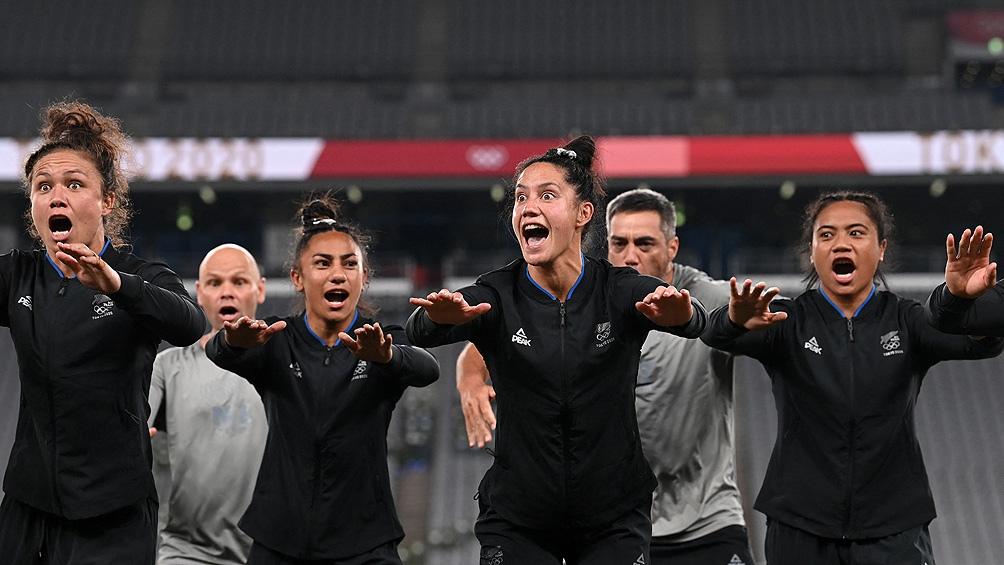 Las All Blacks le ganaron a Francia por 26 a 12 y se llevaron la medalla dorada.