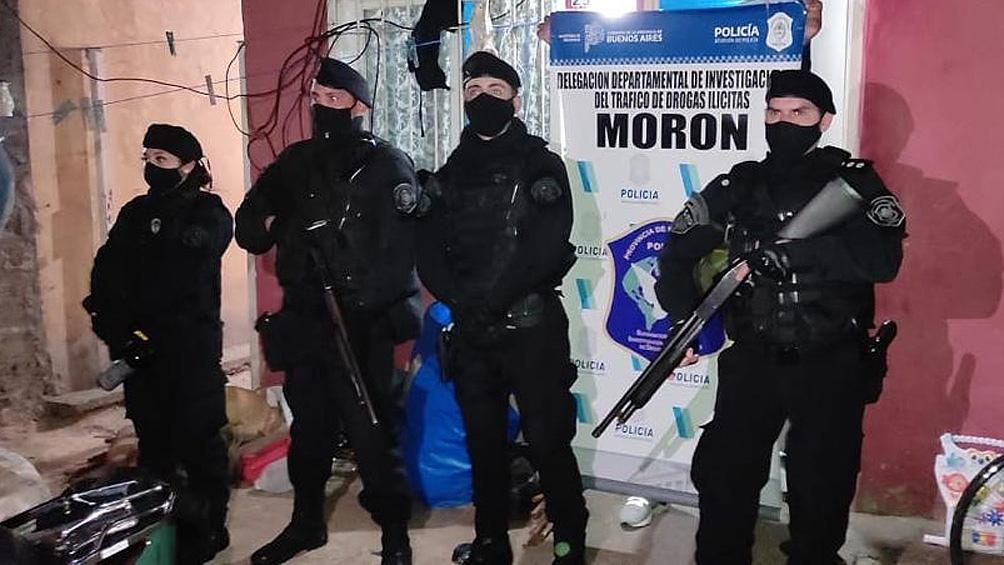 Se hicieron distintos procedimientos donde participaron más de 50 efectivos policiales.