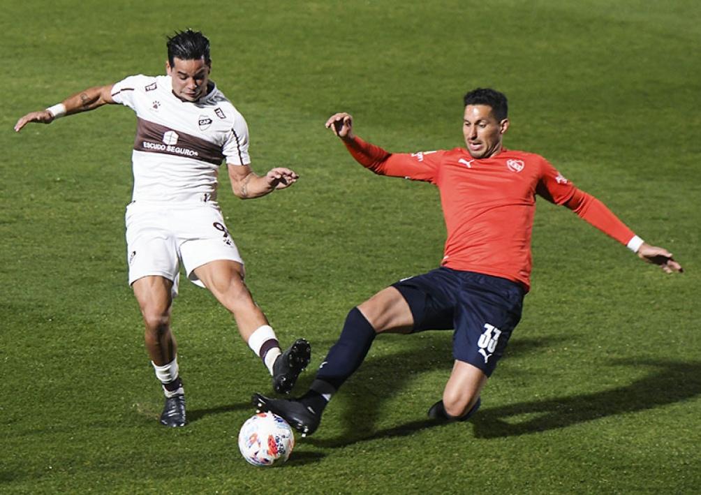 Independiente no logró doblegar a Platense en Vicente López.