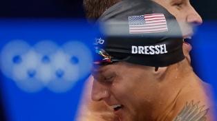 Natación: Caeleb Dressel se despidió con dos medallas de oro y la gloria