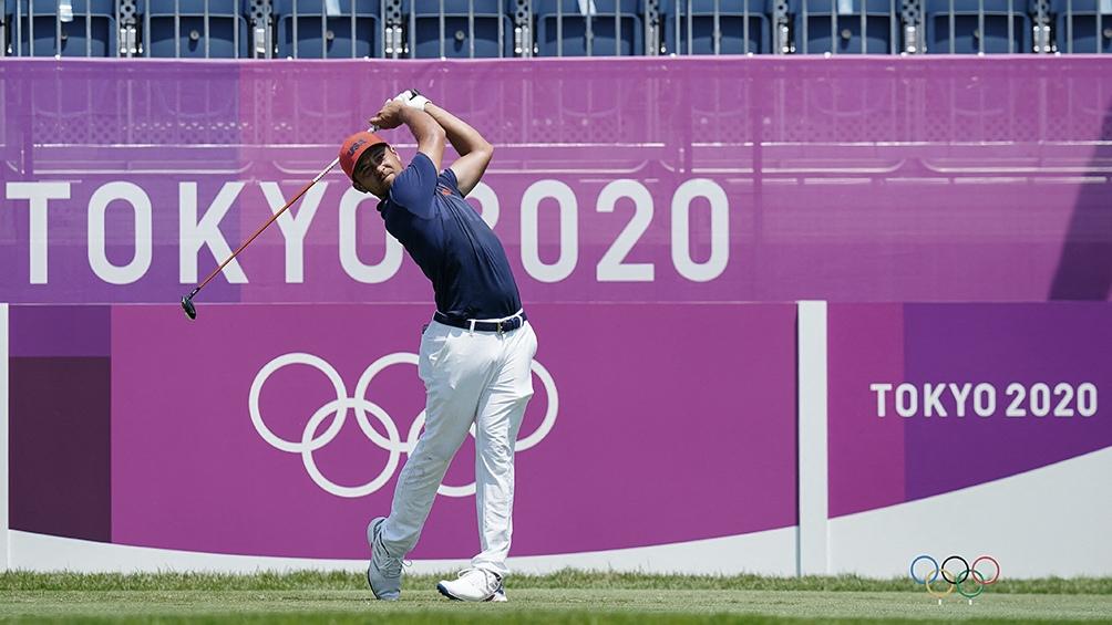 El estadounidense Schauffele ganó el oro en el golf individual masculino de los JJOO