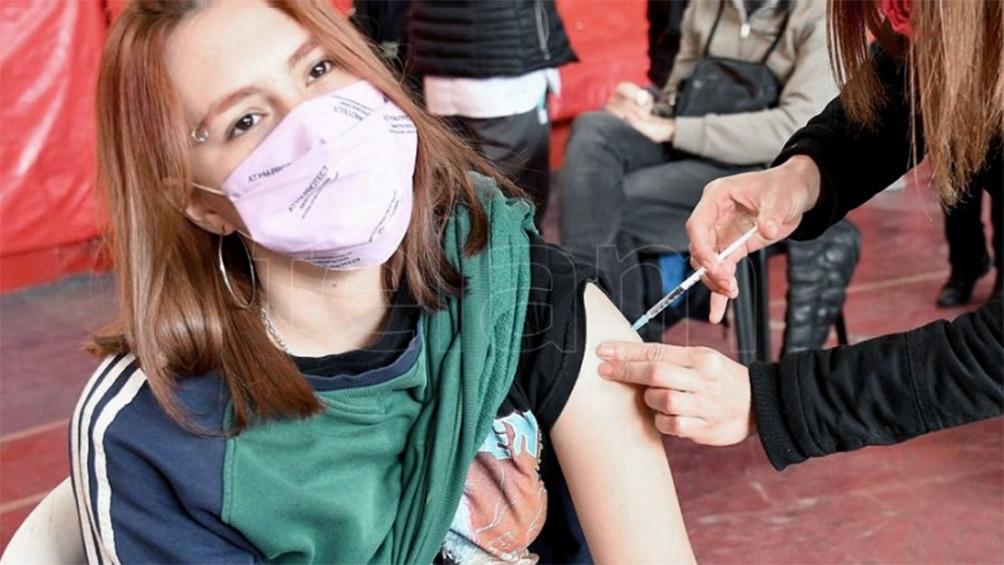 Comenzó la vacunación para los más jóvenes. (Foto Gustavo Amarelle)
