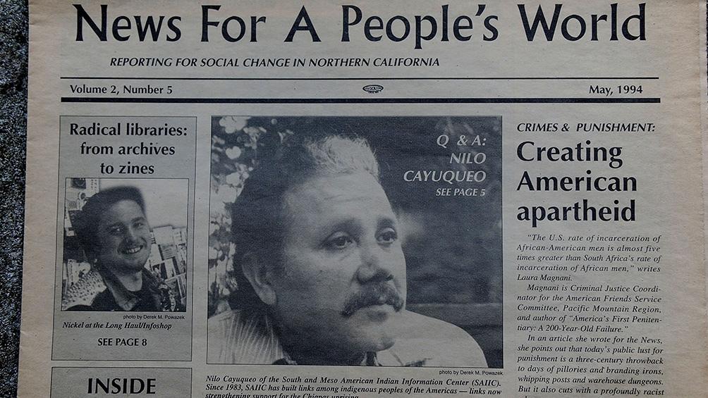"""Nilo narra el destierro y señala que muchas personas de origen mapuche """"se fueron a vivir a las villas miseria""""."""