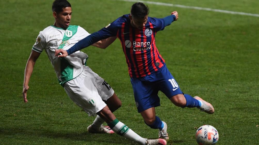 San Lorenzo y Banfield empataron en un gol (Foto: Maximiliano Luna).