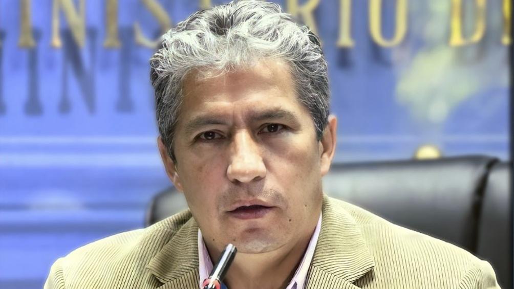 El ministro Edmundo Novillo realizó el anuncio