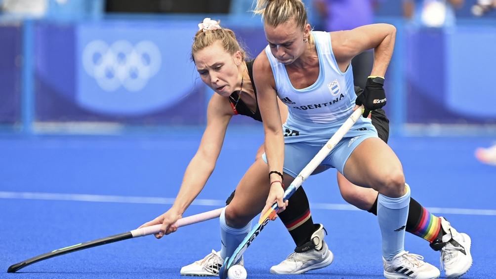 Las Leonas derrotaron a su par de Alemania. (Foto: AFP)