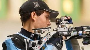 Tiro: Eberhardt finalizó en el puesto 34 los 50 metros carabina y quedó sin chances
