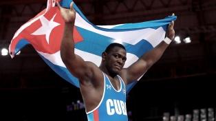 El luchador cubano Mijaín López ganó su cuarto oro olímpico en Tokio 2020