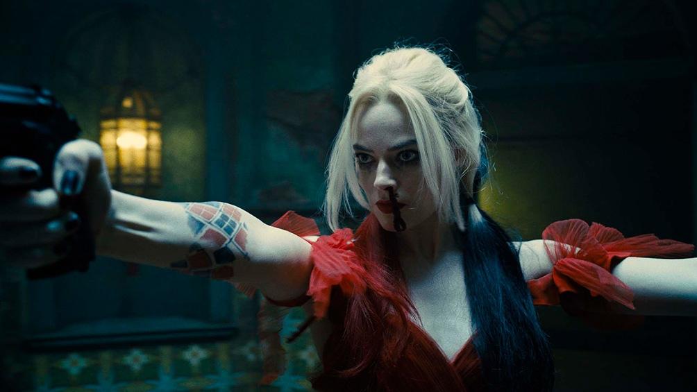 Margott Robbie como la querida y psicótica Harley Quinn