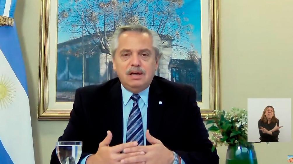 Fernández asistió la semana pasada en Perú a los actos de jura del flamante presidente de ese país.