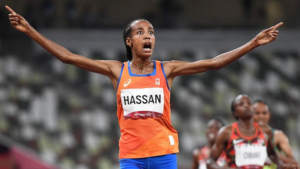 Sifan Hassan una de las estrellas de Tokio 2020.