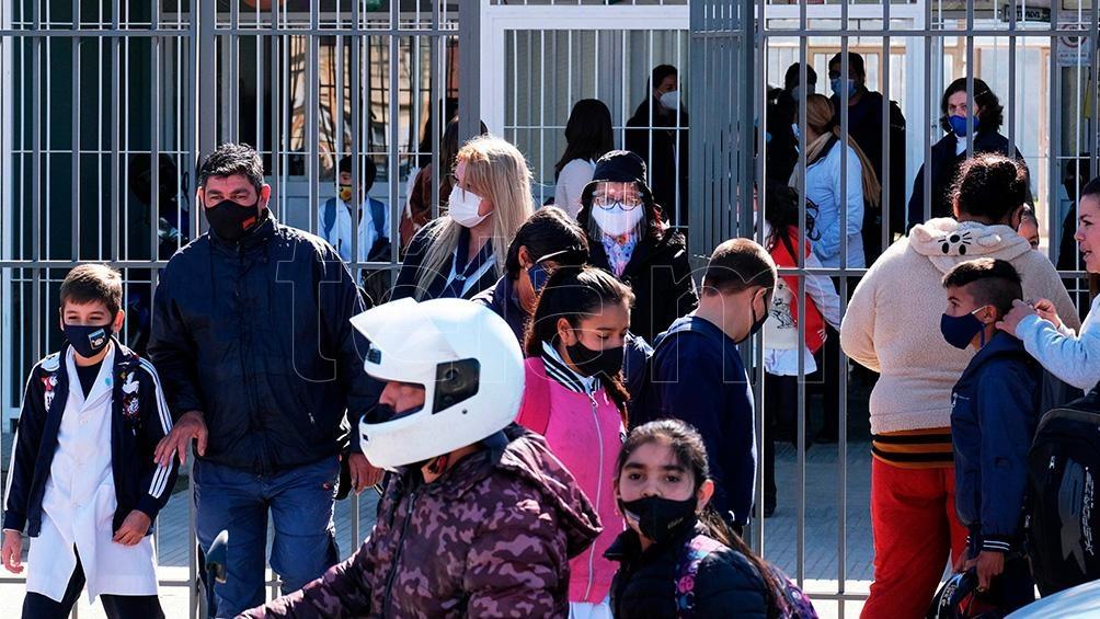 En Corrientes el lunes 27 comenzaron las clases presenciales en todos los niveles educativos. ( Foto German Pomar)