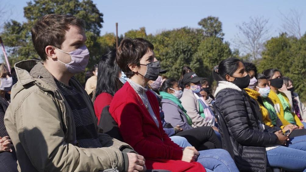 """Esta nueva iniciativa surge a partir de registrar que """"más del 9% de la población argentina habita en zonas rurales"""".  Foto: Ministerio de Género."""