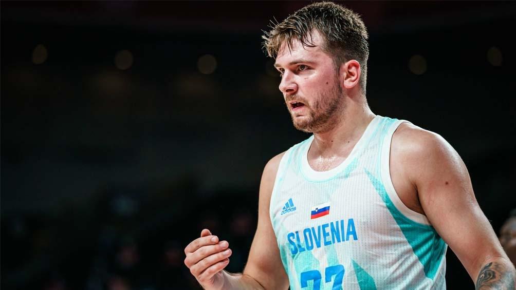 Doncic y Eslovenia, a semifinales de Tokio 2020, tras derrotar a Alemania  (Foto: @FIBA)