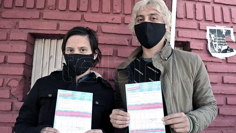 Argentina alcanzó la inmunización del 55,49% de la población total con al menos una dosis (Foto: Gustavo Amarelle).