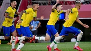 Brasil y España jugarán la final del torneo olímpico de fútbol en Tokio 2020