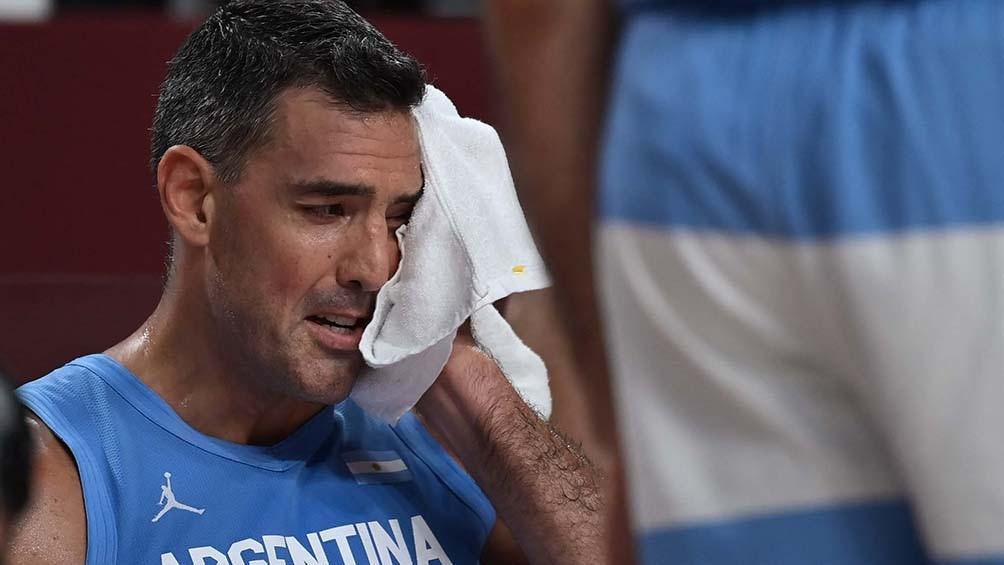 Las lágrimas de Scola en su despedida.