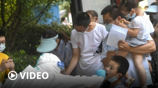 El coronavirus reaparece en Wuhan en medio de gran rebrote por la variante Delta