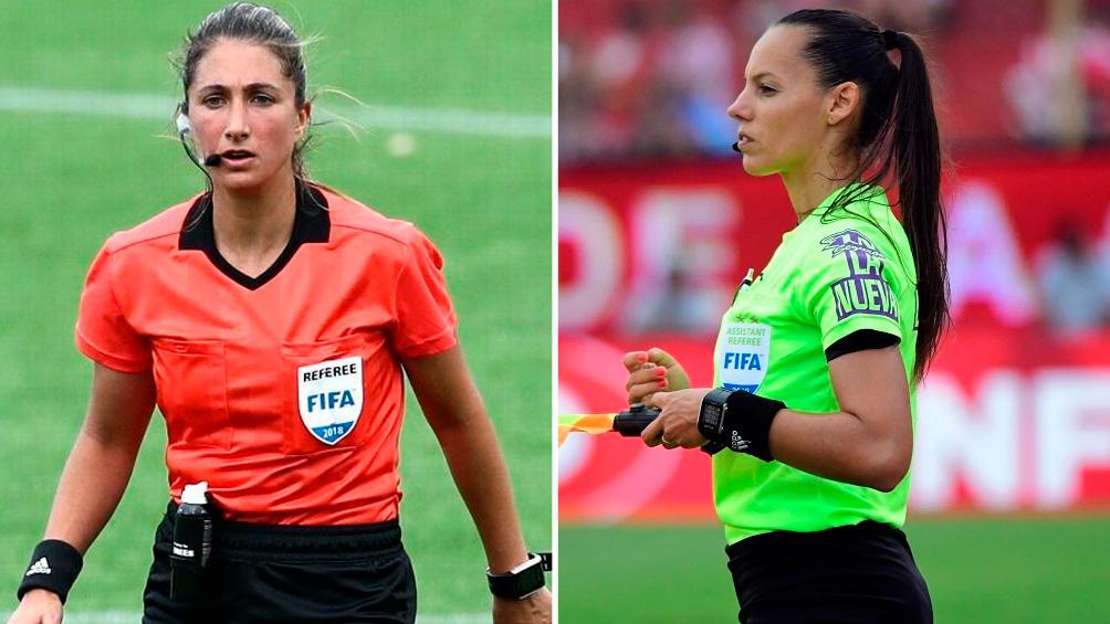 Las árbitras argentinas Fortunato y De Almeida fueron designadas para el partido por el bronce