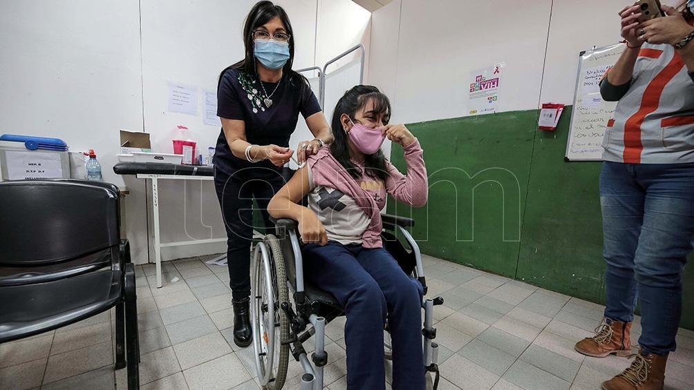 En La Pampa, 14.951 menores entre 12 y 17 años se anotaron para recibir la vacuna contra coronavirus. Foto: Julian Varela