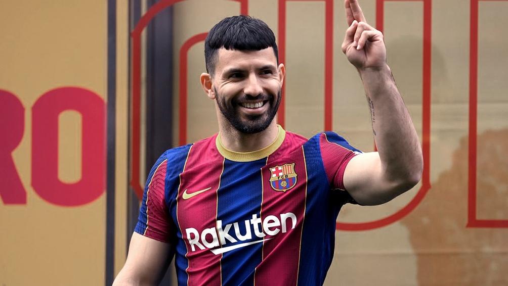 Una lesión en el gemelo interno de la pierna derecha lo dejó afuera a Sergio Agüero.