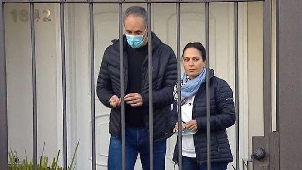 """López contó que en todo momento los delincuentes """"pedían plata"""", mientras amenazaban a toda la familia."""