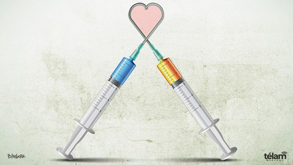 La combinación de vacunas logra un