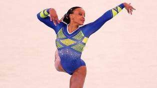Rebeca Andrade, una hija del Brasil profundo, bañada en oro