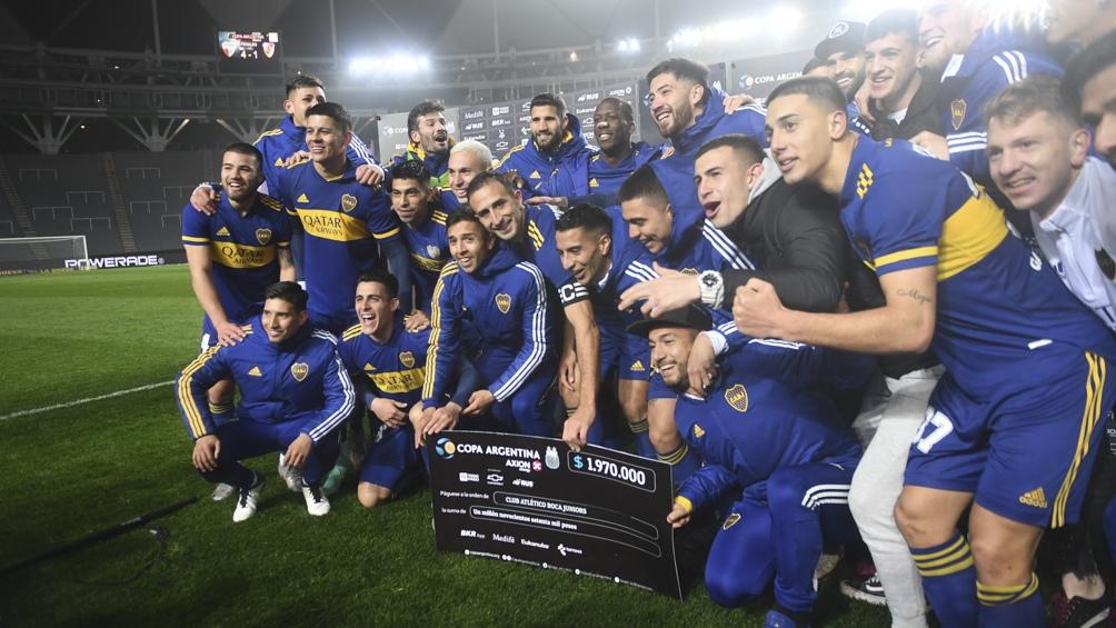 Boca pasó de ronda y enfrentará a Patronato en cuartos de final. (Foto: Fernando Gens)