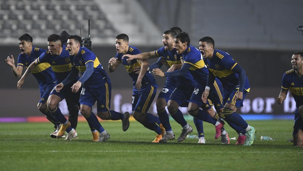 Terminó festejando Boca con un contundente 4 a 1 en los penales (Foto: Fernando Gens)