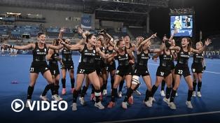 """Para """"Chapa"""" Retegui, el triunfo de Las Leonas es un """"premio para el deporte argentino"""""""