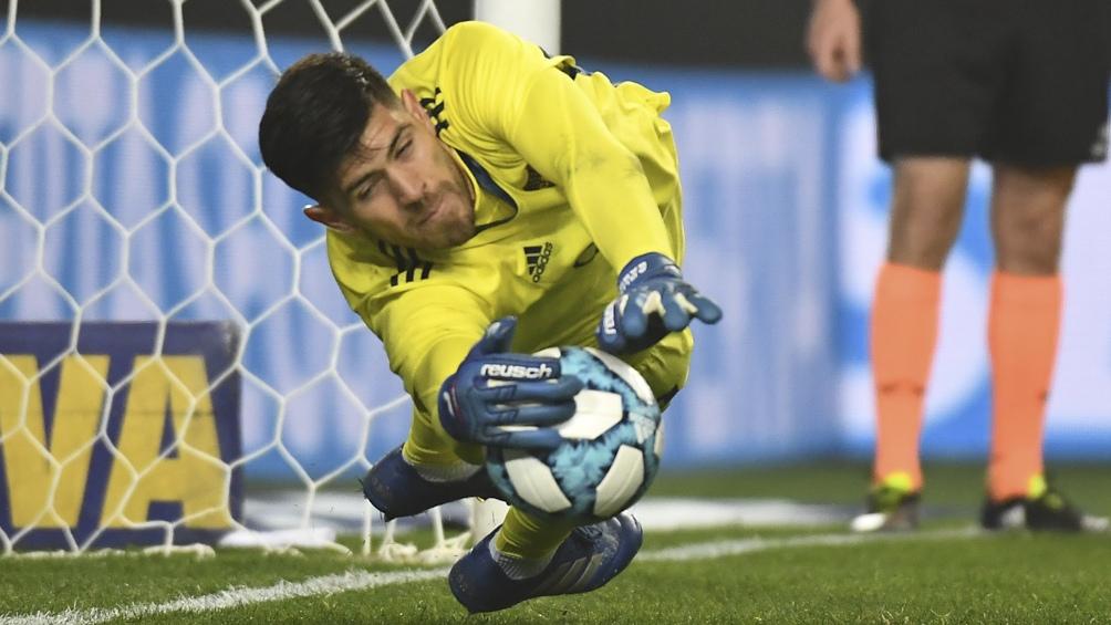 El lugar de Armani será para el arquero de Boca Juniors, Agustín Rossi. (Foto: Gens Fernando)