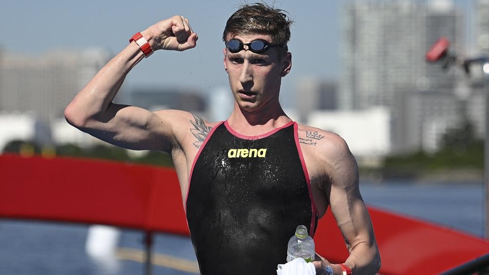 Juegos Olímpicos: Un alemán se quedó con la medalla de oro en aguas abiertas