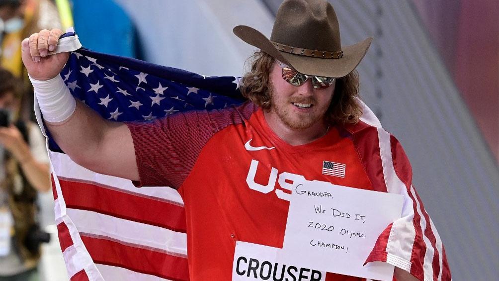 Juegos Olímpicos: El emotivo mensaje de un atleta al ganar el oro en Tokio 2020
