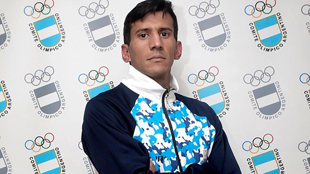 Villamayor inició su participación en el pentatlón moderno de los JJOO