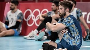 El seleccionado de vóley cayó con Francia y jugará por el bronce con Brasil