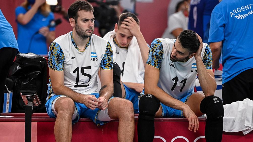 Argentina y la decepción por quedar afuera de la definición por el oro.
