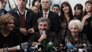 """Carlotto aseguró que el reencuentro con su nieto """"la rejuveneció"""" para """"buscar a los que faltan"""""""