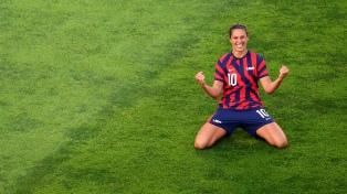 Con presencia arbitral argentina, Estados Unidos ganó el bronce en fútbol femenino