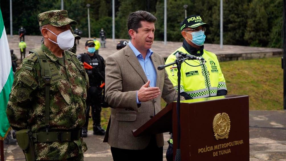 El ministro de Defensa Diego Molano había descartado una intrusión colombiana en el espacio aéreo venezolano.