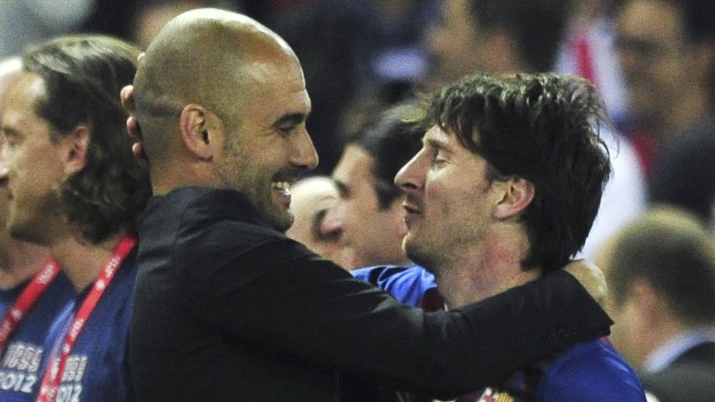 Guardiola y Messi, una sociedad exitosa con el Barcelona. Foto: archivo