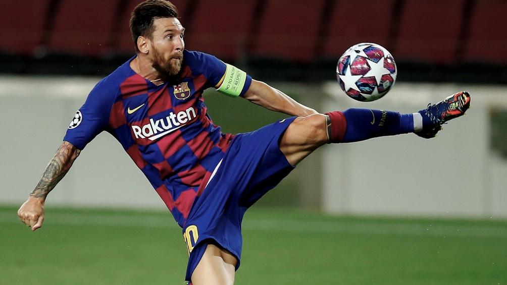 En el Fútbol Club Barcelona, pasado.