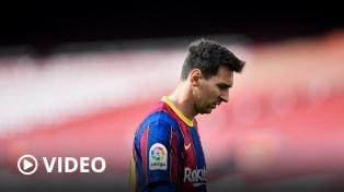 Conmoción en el fútbol: Messi se va del Barcelona
